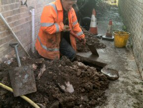 Gully replacement in Taunton